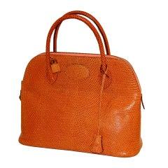 Hermes Bolide Bag in Lizard 32cm RARE