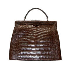 Amazing Large Best Form Alligator Kelly Bag