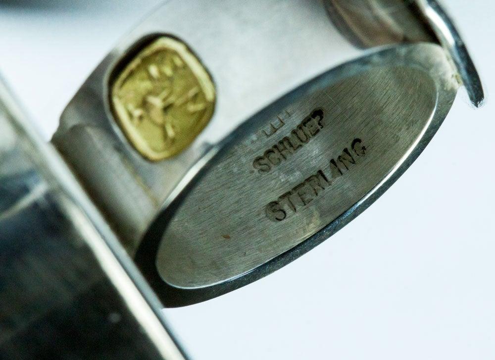 Rare Walter Schluep Coca-Cola Sterling Silver Ring 4