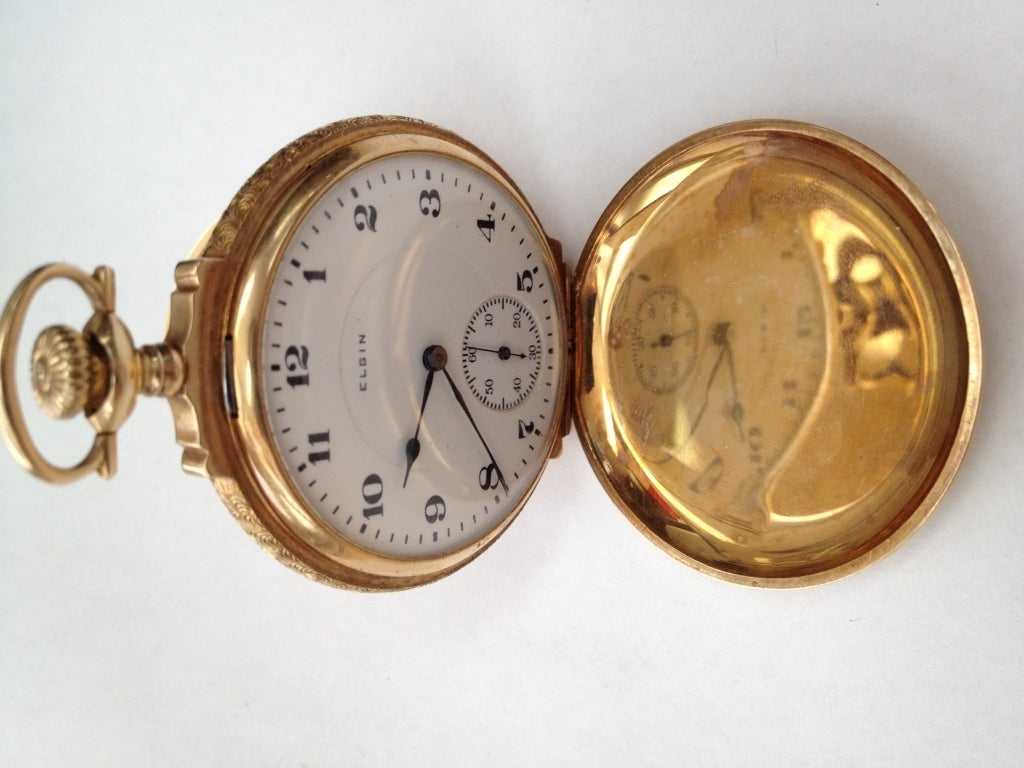 elgin multi gold pocket at 1stdibs
