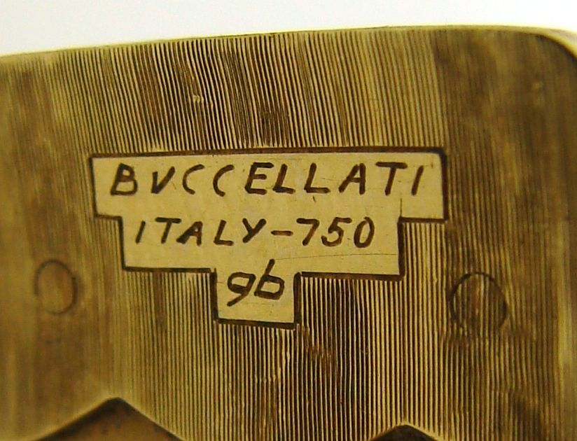 BUCCELLATI Ivory, Turquoise & Yellow Gold Bangle 3