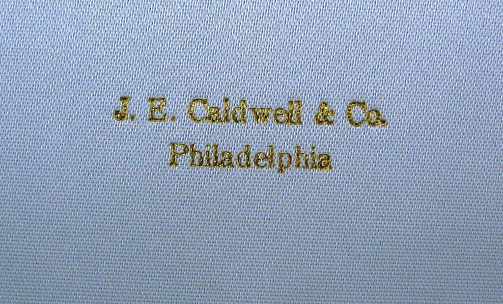 Caldwell Jade Diamond Platinum Gold Necklace 4