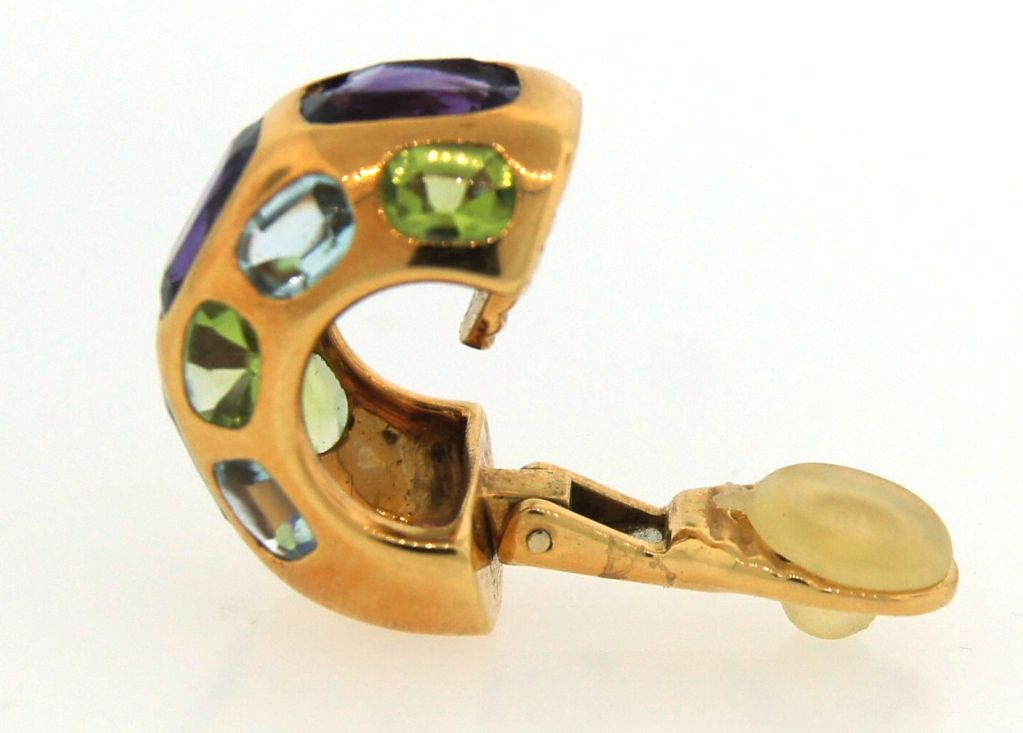 CHANEL Gemstones & Yellow Gold Ring & Earrings image 7