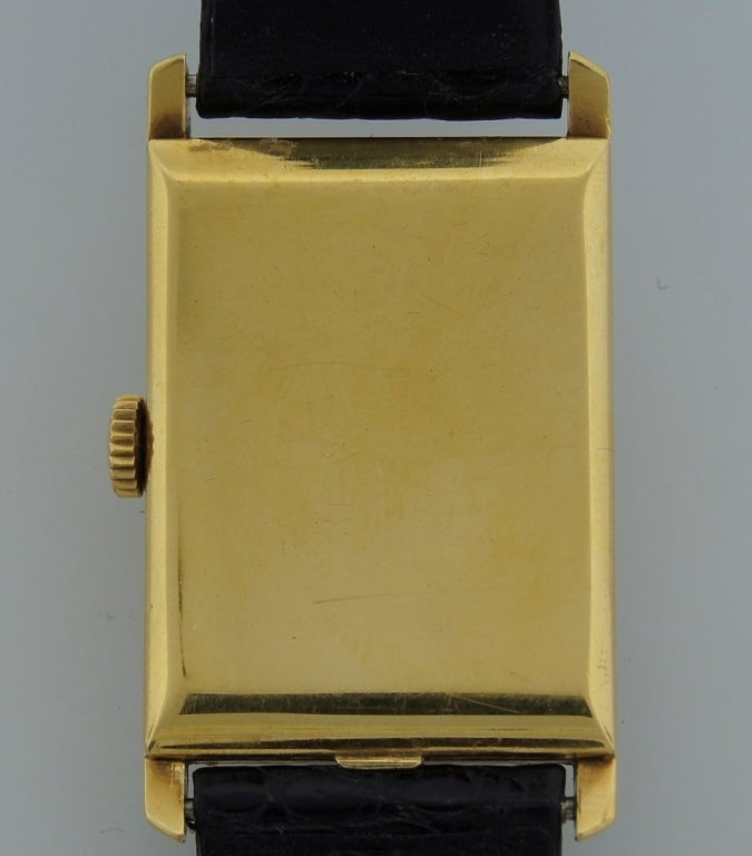Patek Philippe Retailed by Yard Yellow Gold manual Wristwatch , circa 1930s For Sale 1