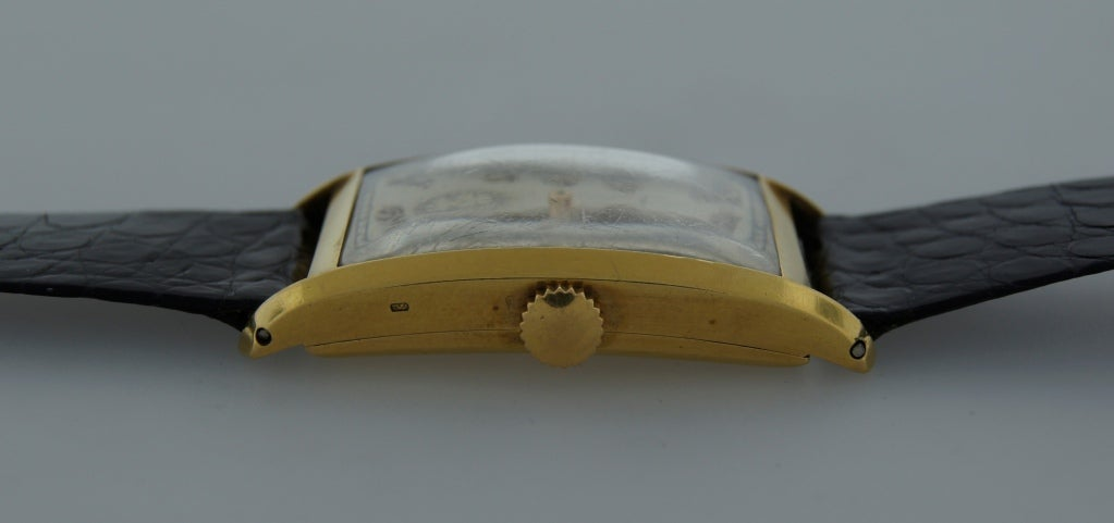Patek Philippe Retailed by Yard Yellow Gold manual Wristwatch , circa 1930s For Sale 2