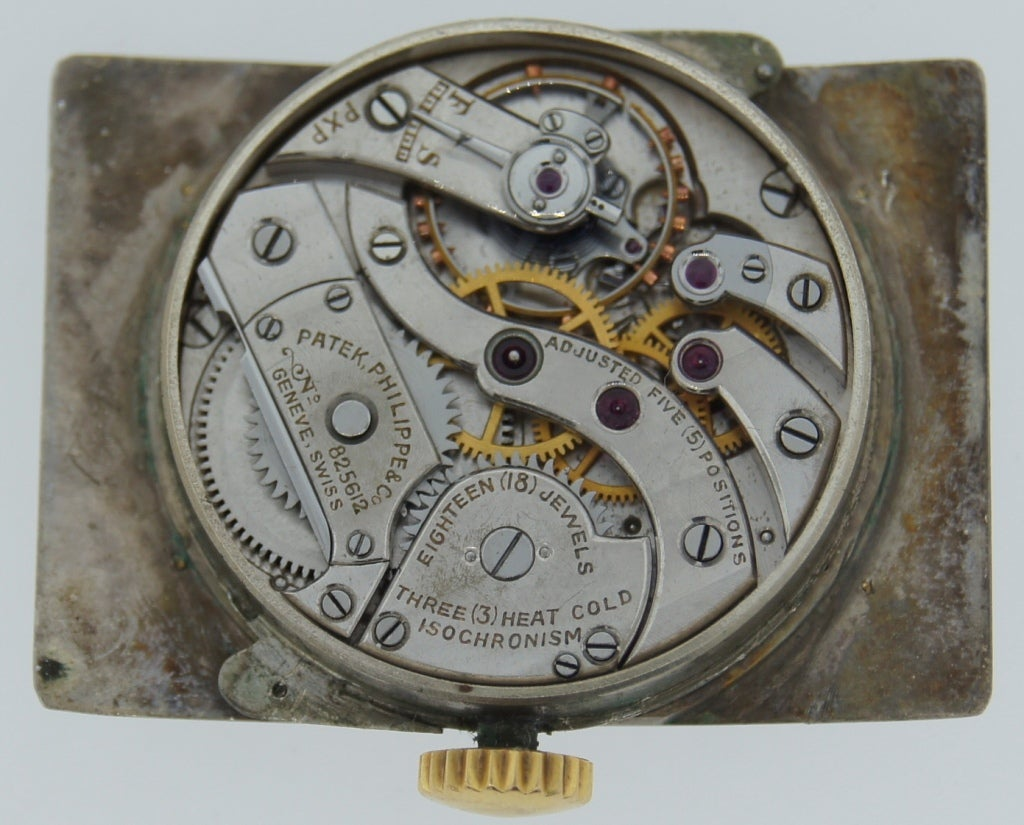 Patek Philippe Retailed by Yard Yellow Gold manual Wristwatch , circa 1930s For Sale 3