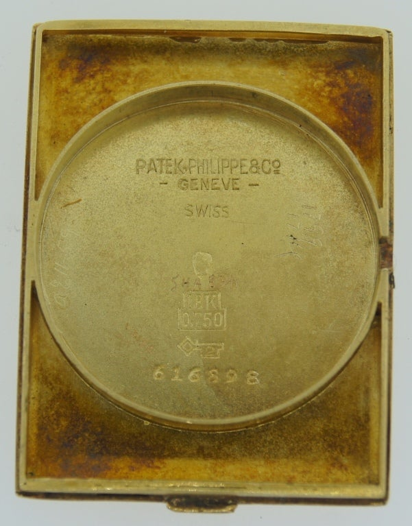 Patek Philippe Retailed by Yard Yellow Gold manual Wristwatch , circa 1930s For Sale 4