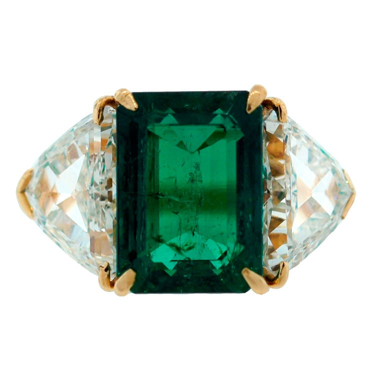 harry winston emerald gubelin cert