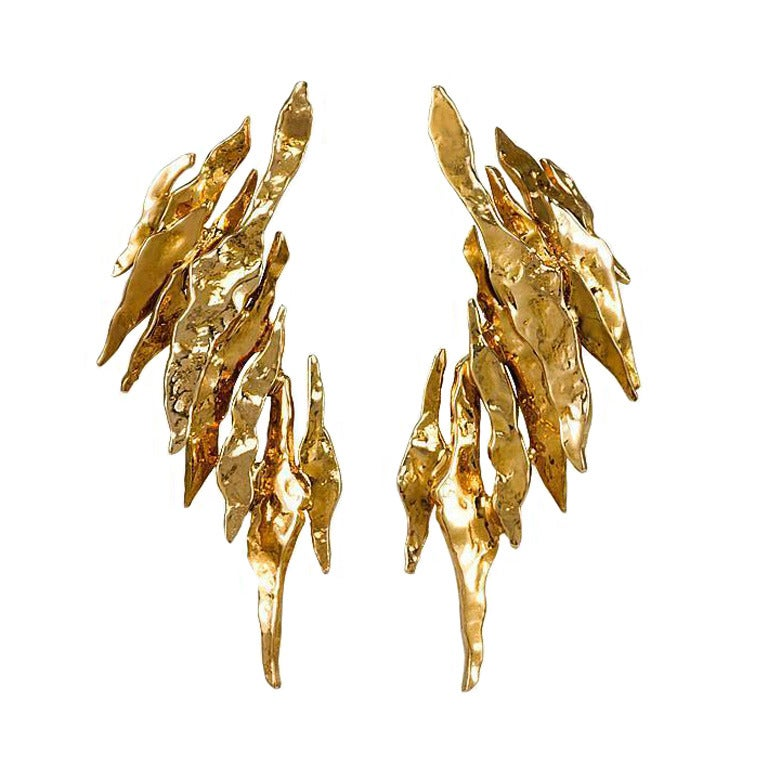 Gold Chaumet Earrings At 1stdibs