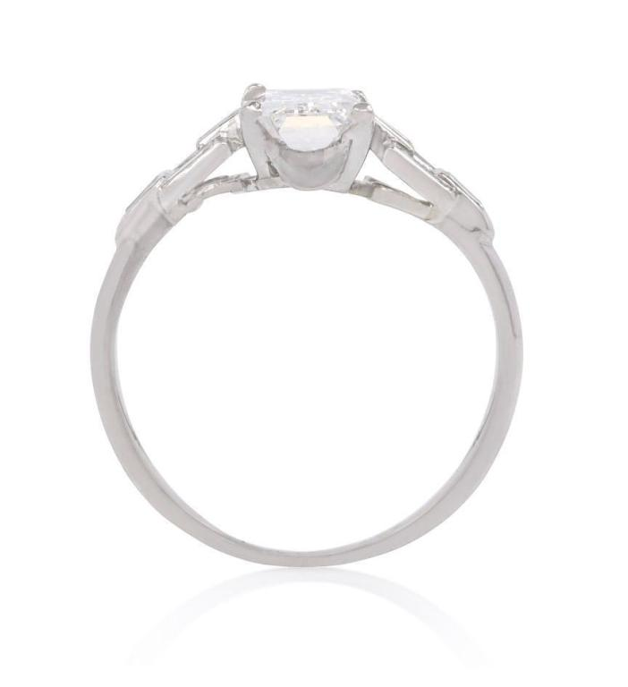 Art Deco Diamond Engagement Ring 3
