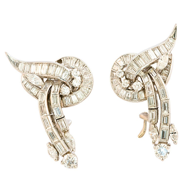 Glamorous Diamond Earrings 1