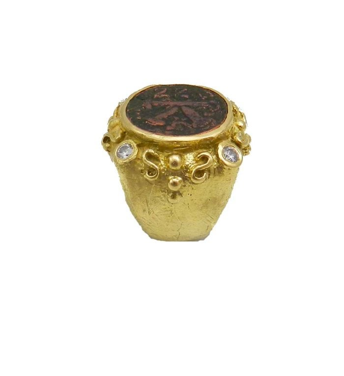 Katy Briscoe Antique Bronze Coin Ring At 1stdibs. Dual Rings. 15000 Dollar Wedding Rings. Golden Engagement Rings. Diamond Chopard Engagement Rings. Braided Engagement Rings. Saphire Rings. Eye Rings. Sydney Engagement Rings
