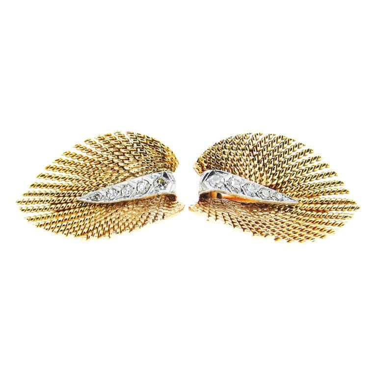 Pair of Versatile Diamond  Dress Clips
