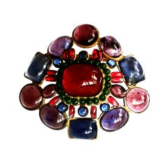 Rare Robert Goossens for Chanel Brooch ca.1955