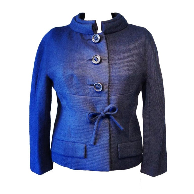 Pierre balmain haute couture jacket 1950s at 1stdibs for Haute couture jacket