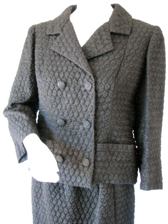 Balenciaga haute couture suit 1950s at 1stdibs for Haute couture suits