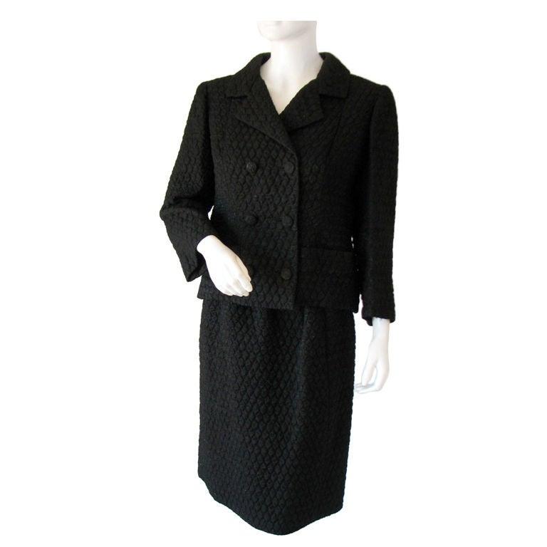 Balenciaga haute couture suit 1950s for Haute couture suits