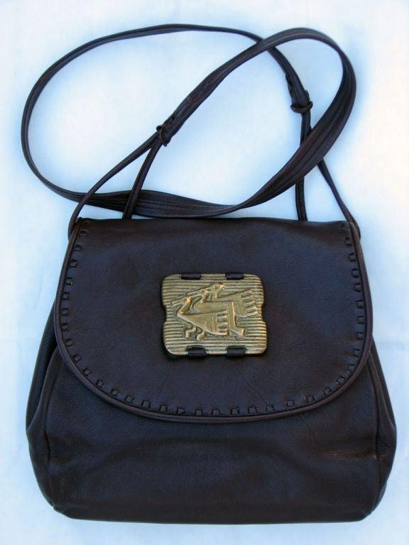 1950s Lloyd Kiva Charles Loloma Shoulder Bag At 1stdibs
