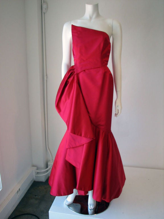 RUBEN PANIS Evening Gown, 1980s image 2