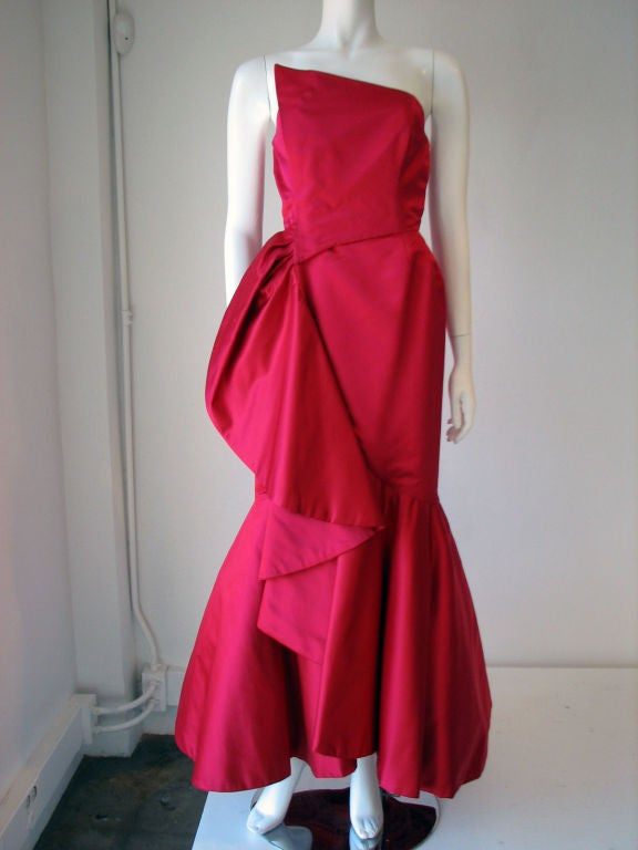 RUBEN PANIS Evening Gown, 1980s image 6