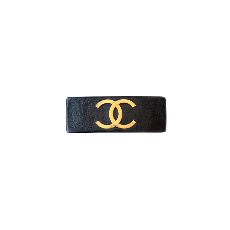 Chanel Barrette 1980s At 1stdibs