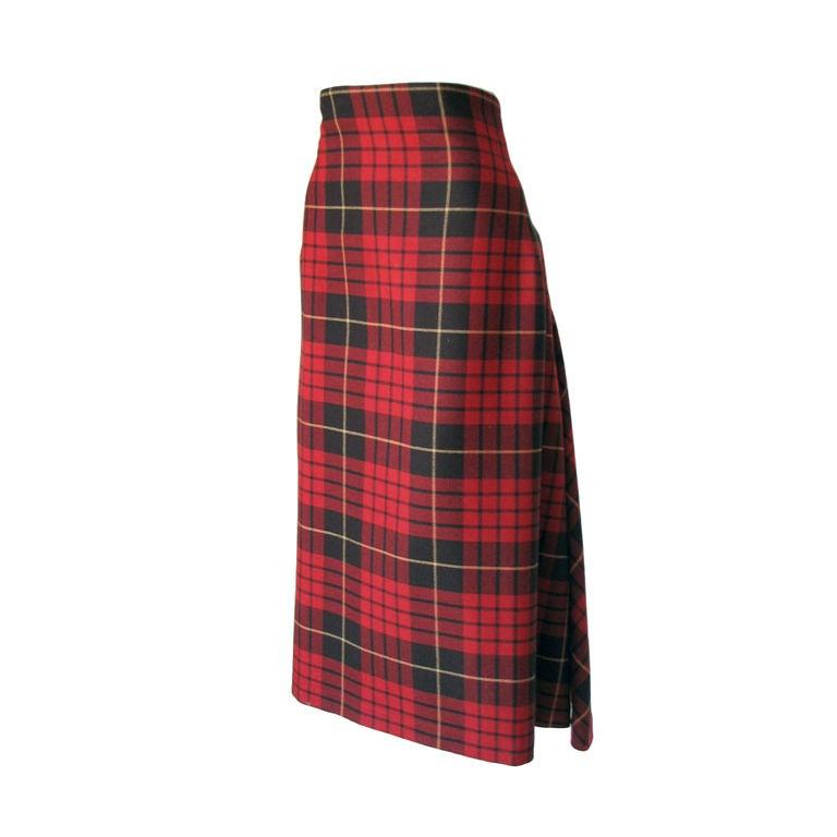 ALEXANDER McQUEEN Iconic Tartan Skirt