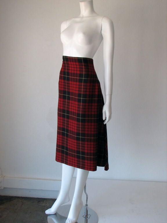 ALEXANDER McQUEEN Iconic Tartan Skirt image 2