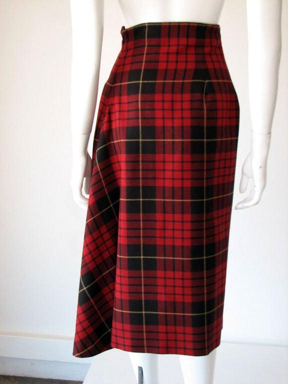 ALEXANDER McQUEEN Iconic Tartan Skirt image 3