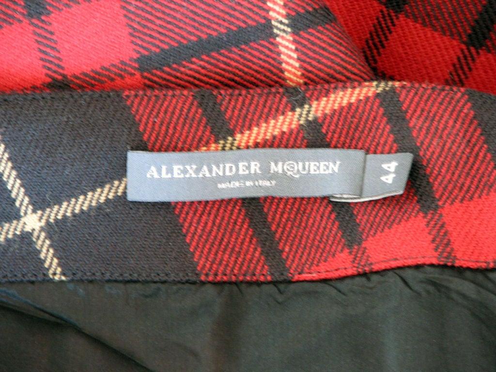 ALEXANDER McQUEEN Iconic Tartan Skirt image 4
