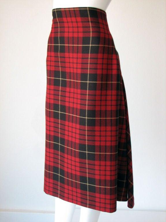 ALEXANDER McQUEEN Iconic Tartan Skirt image 5