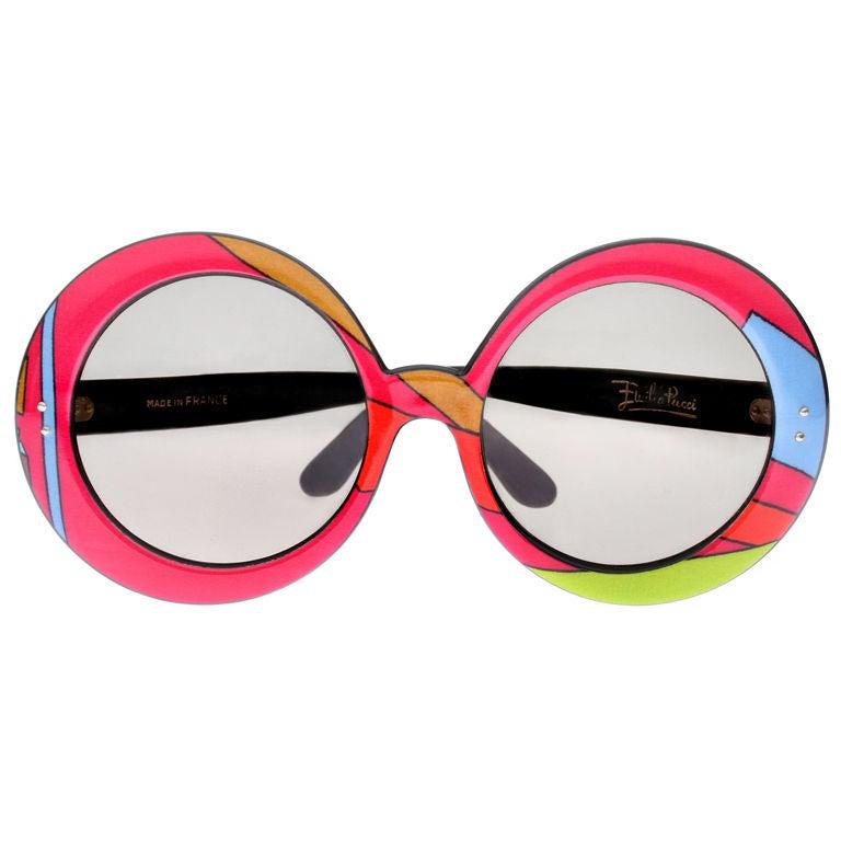 Pair of  1960's Emilio Pucci Sunglasses
