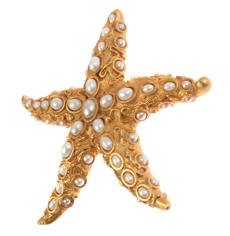 Large Starfish Brooch or Pendant by Oscar image 2