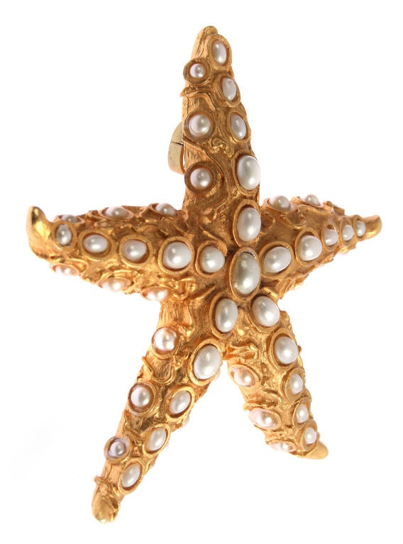 Large Starfish Brooch or Pendant by Oscar image 3
