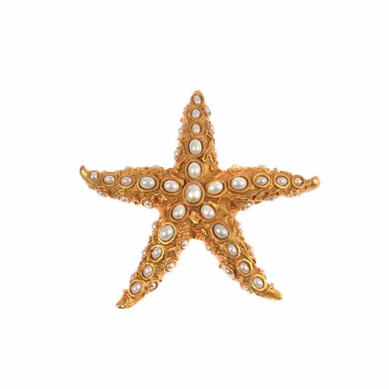 Large Starfish Brooch or Pendant by Oscar