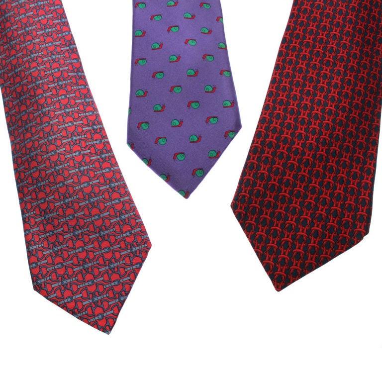 vintage hermes ties at 1stdibs