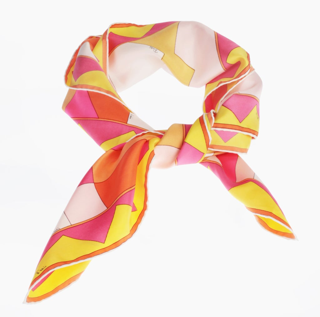 Vintage Pucci Scarf in Spring Colors image 2