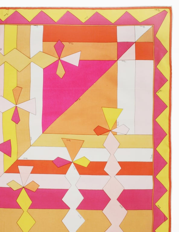 Vintage Pucci Scarf in Spring Colors image 3