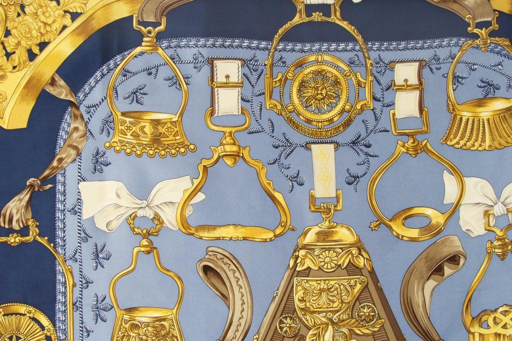 Hermes Etriers Silk Scarf image 3