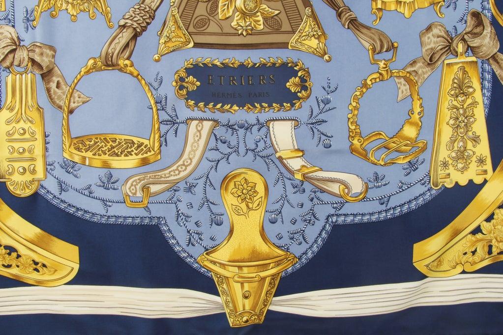 Hermes Etriers Silk Scarf image 4
