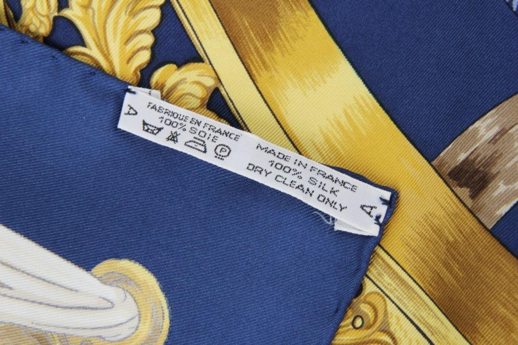 Hermes Etriers Silk Scarf image 5