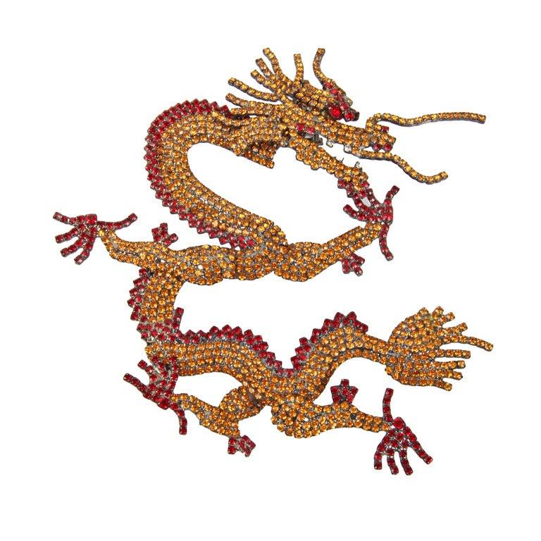 "B and M Von Walhof Chinese ""Trembler ""Dragon at 1stdibs"