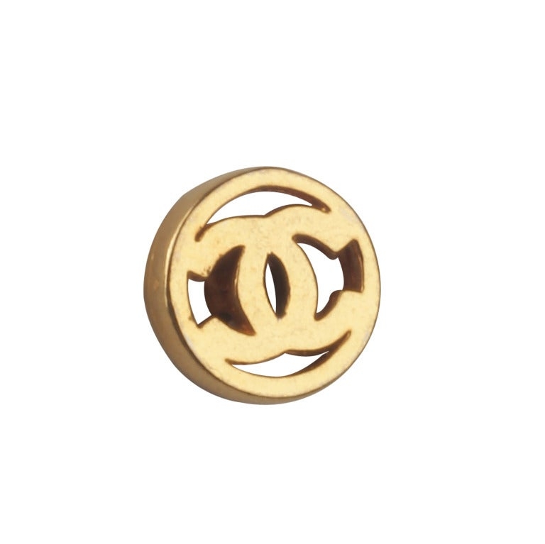 Set of CHANEL Logo Buttons image 3