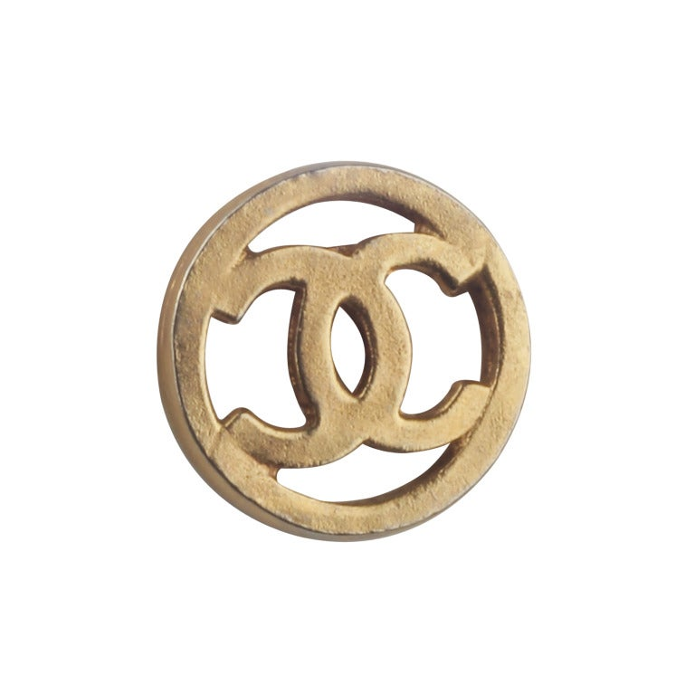 Set of CHANEL Logo Buttons image 4
