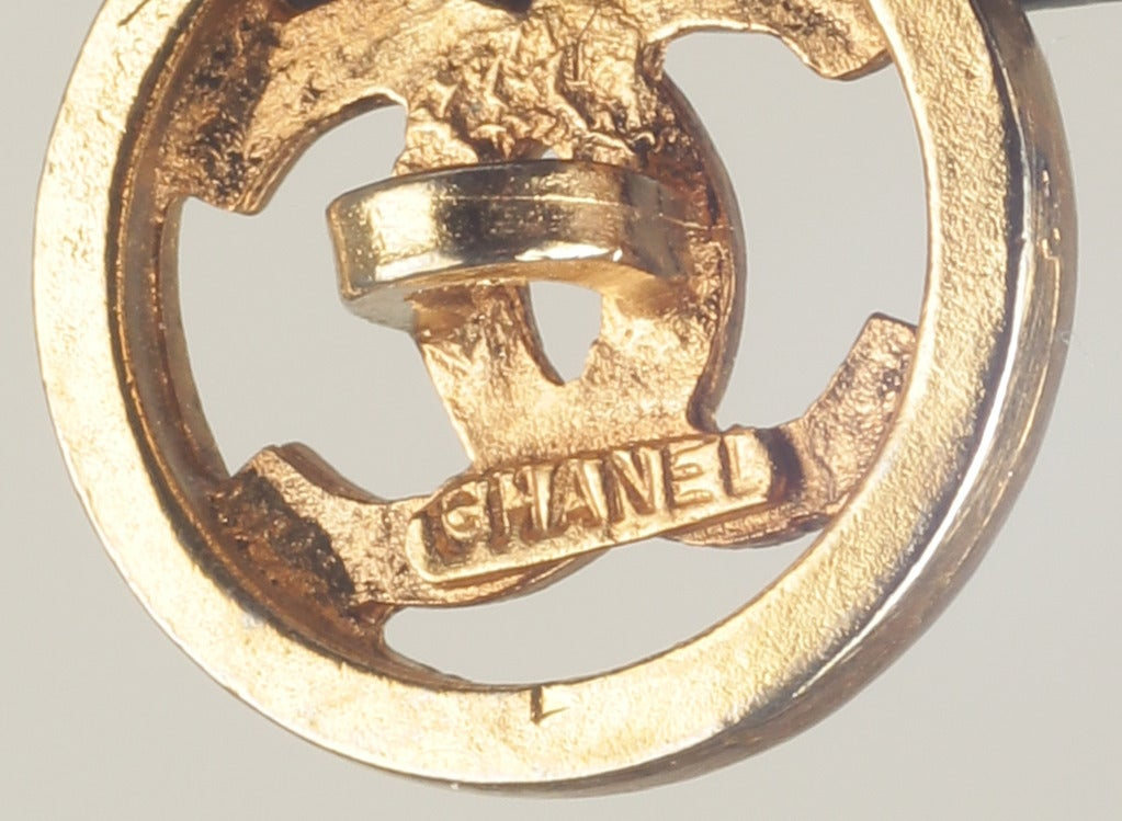 Set of CHANEL Logo Buttons image 5