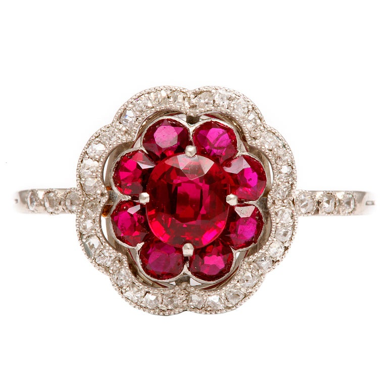 ruby ring ruby ring antique