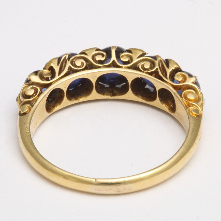 antique sapphire ring at 1stdibs