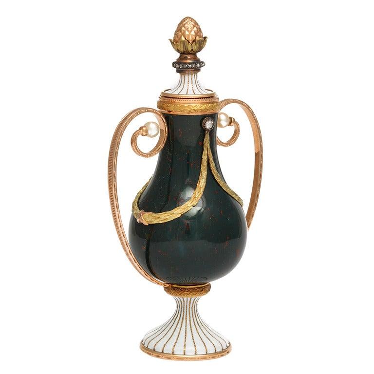 Faberg 233 Gum Pot At 1stdibs