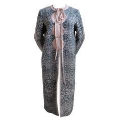 MISSONI boucle wool coat