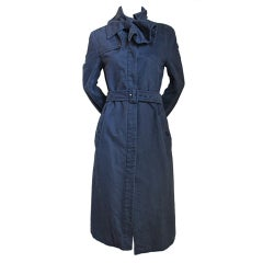 *SALE* VIKTOR & ROLF  brushed cotton trench with bow WAS $595 NOW $225