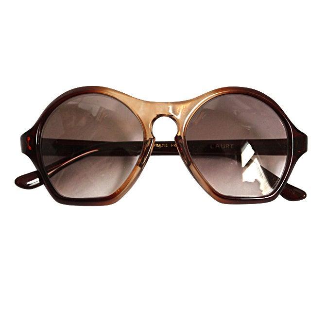 very rare unworn 1960's PIERRE CARDIN sunglasses with case & box 1